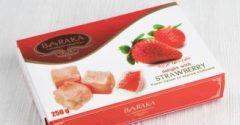 Рахат лукум (Барака) со вкусом клубники. 250 гр