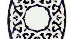 Тарелка квадрат (Пахта).