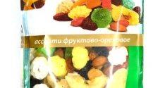 Фруктово-ореховое ассорти 400 гр