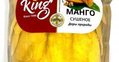 Манго натуральный, без сахара (King), 1кг