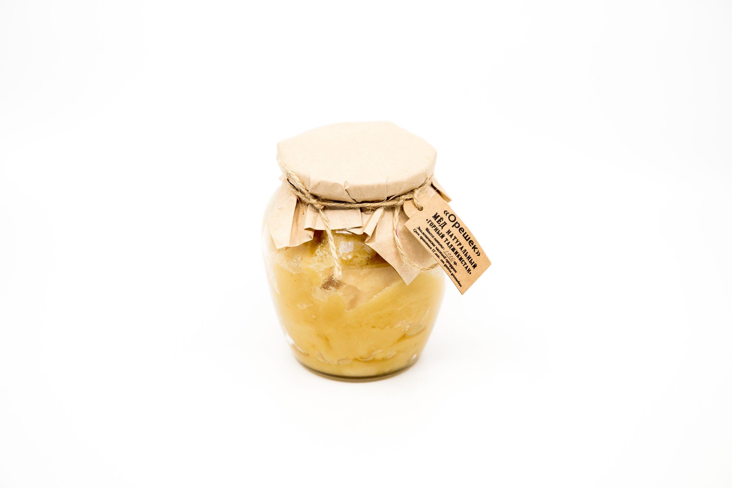 Мед Натуральный 1 кг. (Горный Таджикистан).
