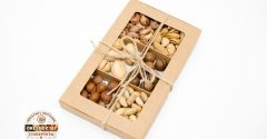 Подарочный набор (смесь орехов в скорлупы 240 грамм)