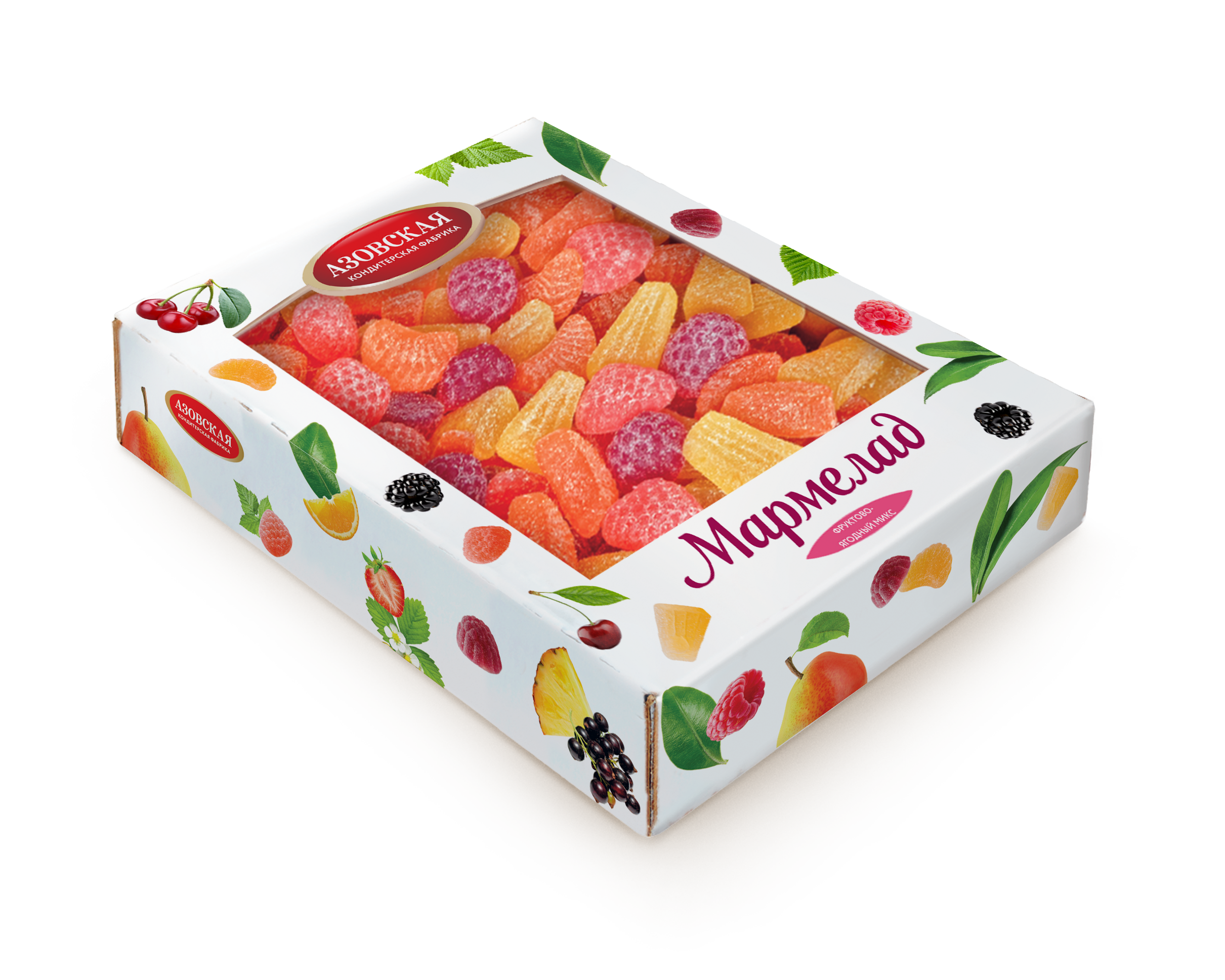 """Мармелад """"Фруктово-ягодный микс"""" 2 кг."""