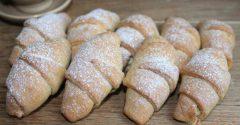 Печенье Рогалик с творогом 2кг