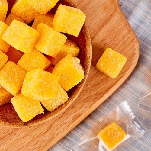 Манго кубики конфеты