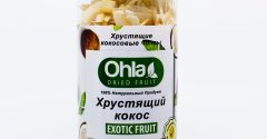 Хрустящий кокос Ohla 350 гр.